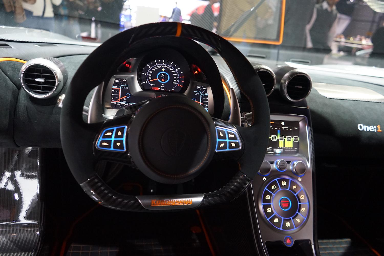 Koenigsegg One Interior >> Neues vom Autosalon Genf 2014. Wir berichten über die wichtigsten News