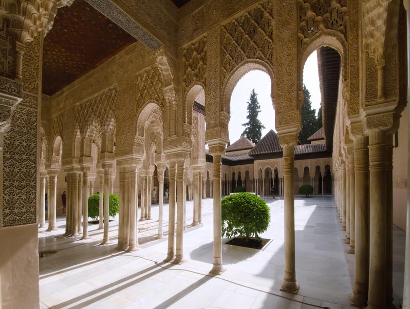 Alhambra Innenhof