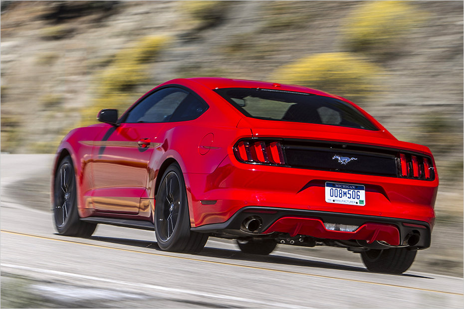 ford mustang 2015 heck