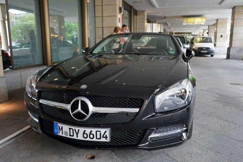 sixt luxury cars (13) Mercedes-Benz SL400
