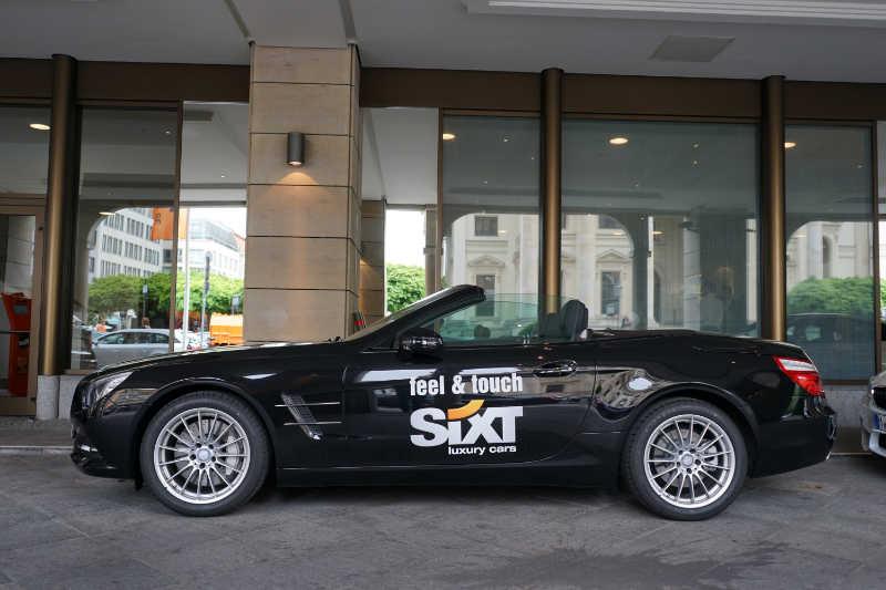 sixt luxury cars (14) Mercedes-Benz SL400
