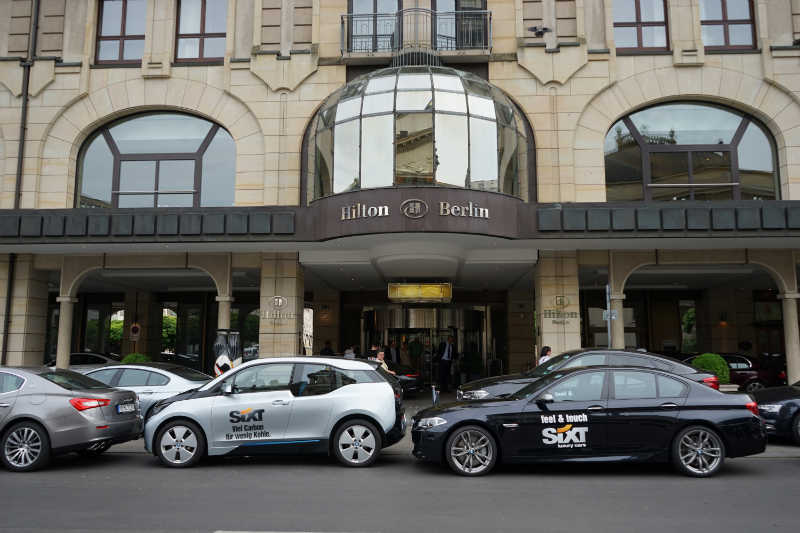 sixt luxury cars (2) Adlon Hotel