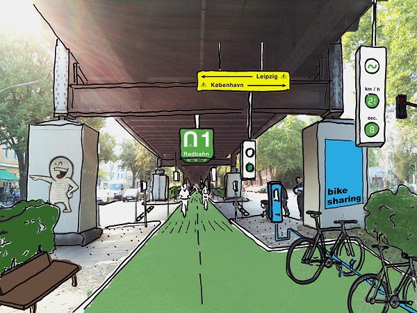 12_Radbahn_Skizze_Kreuzung __ Team Radbahn Berlin