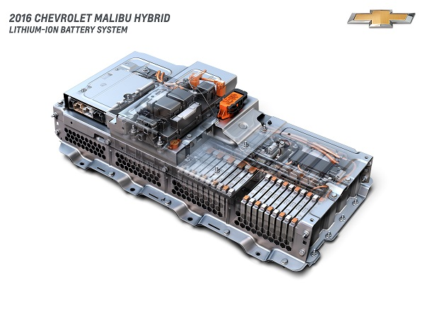 2016 Chevrolet Malibu Hybrid Lithium-Ion Battery System