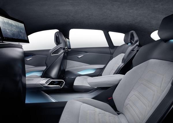 Interior Audi h-tron quattro Konzept Wagens