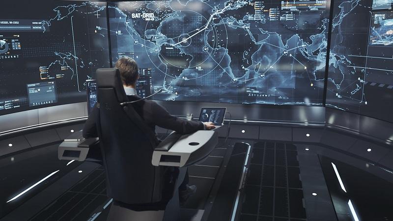 Rolls-Royce autonome Frachtschiffe Kontrollzentrum