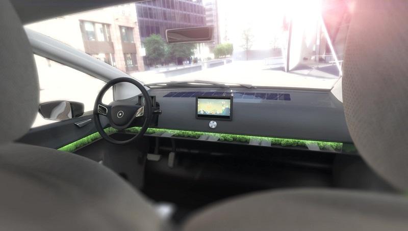 Moos Lüftung Solarauto