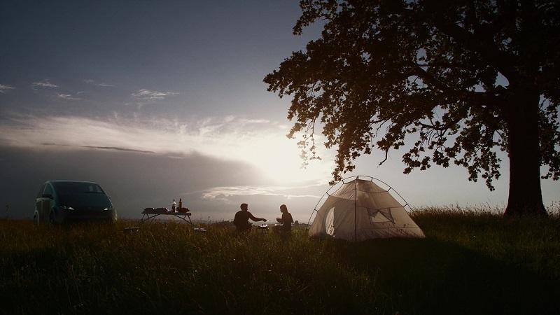 Solarauto Camping