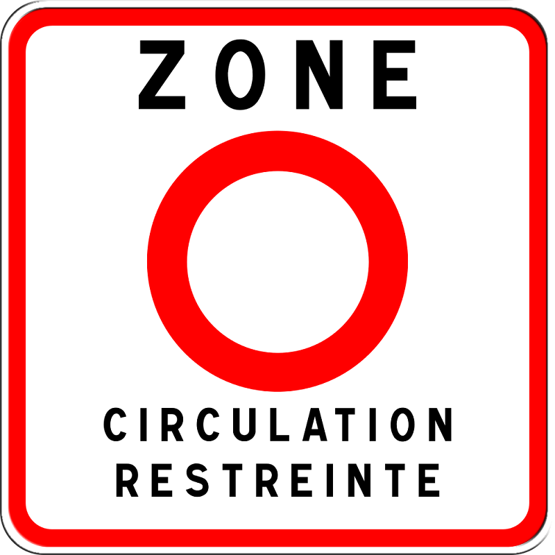 green restricted zone France