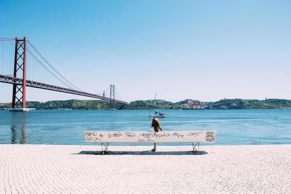 Lissabon Brücke