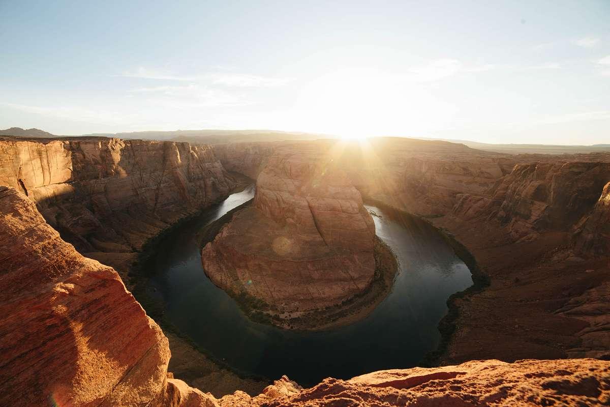 Horseshoe Bend in Arizona, USA