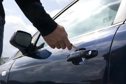 Autoschlüssel eisfrei