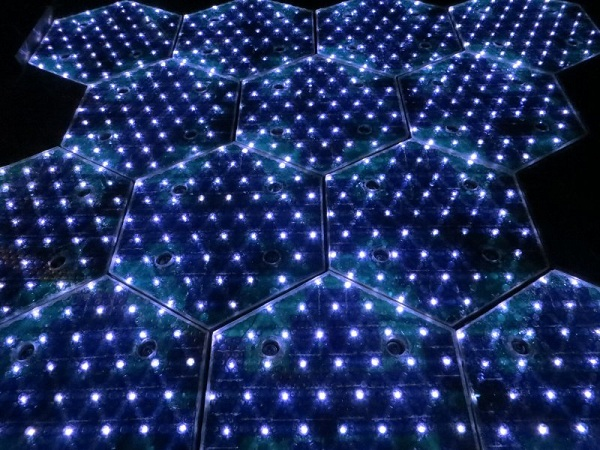 LEDS Solar Roadway Solar Panel