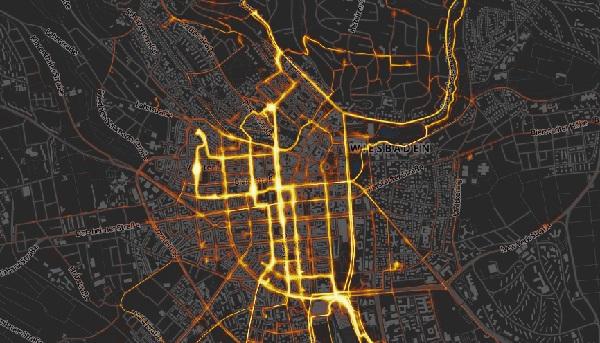 Heatmap-Radwende