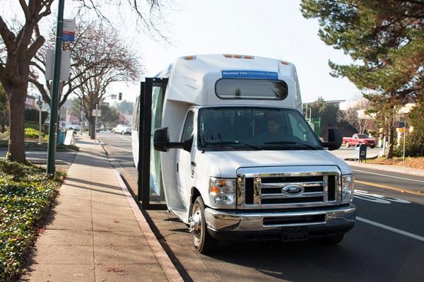 Motiv Electric Bus Google