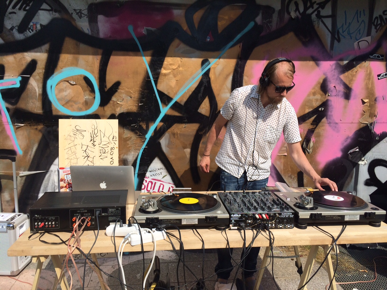 DJ Joe Le Bon - Roadmap Open Air Cinema 2015