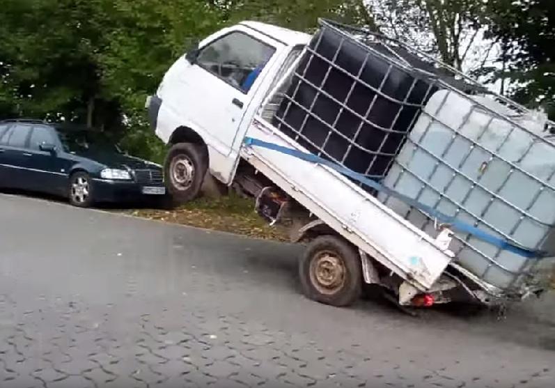 LKW überladen