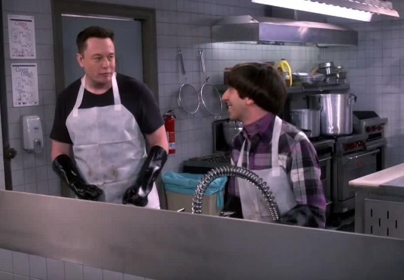Elon Musk tritt bei Big Bang Theory auf