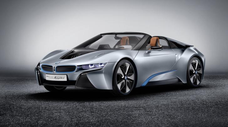 Elegantes Stadtcabrio von BMW - hybrider i8 Spyder