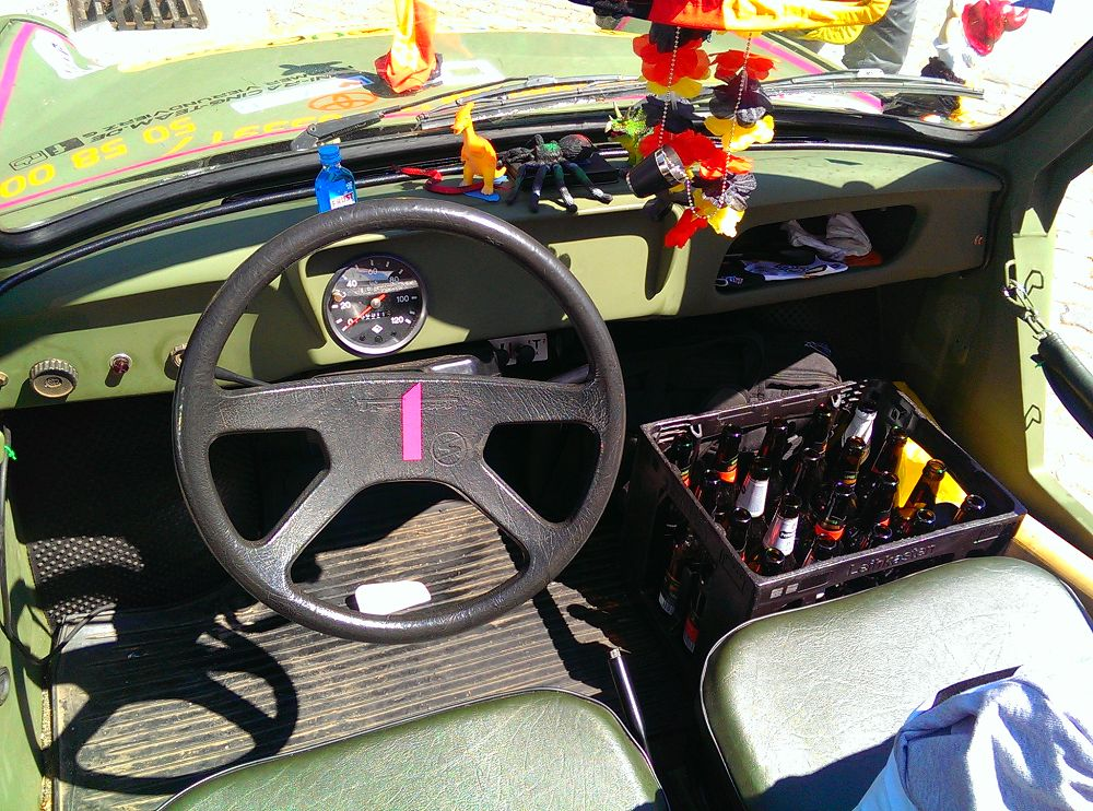 Trabant Cockpit