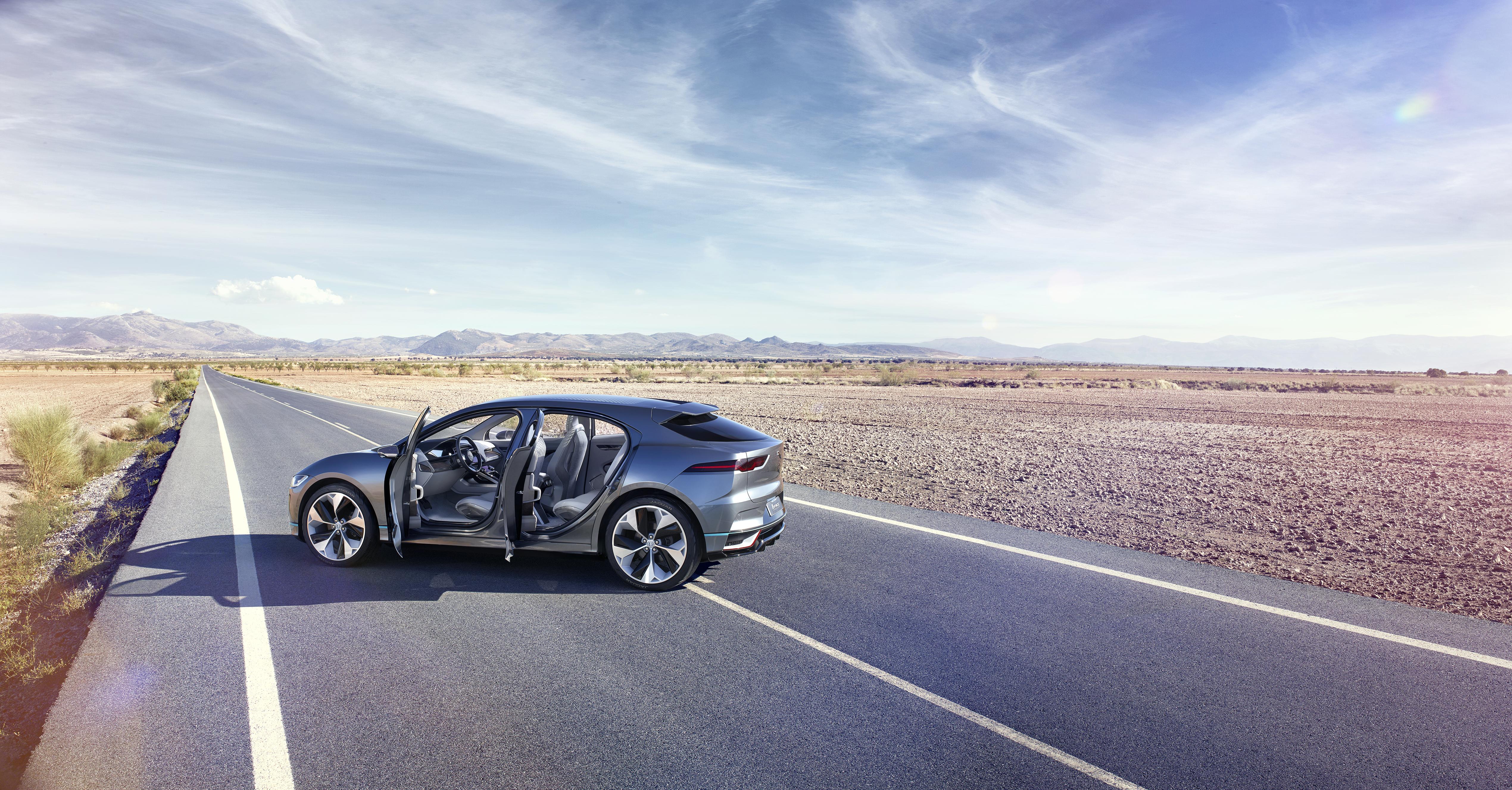The new Jaguar I-Pace concept