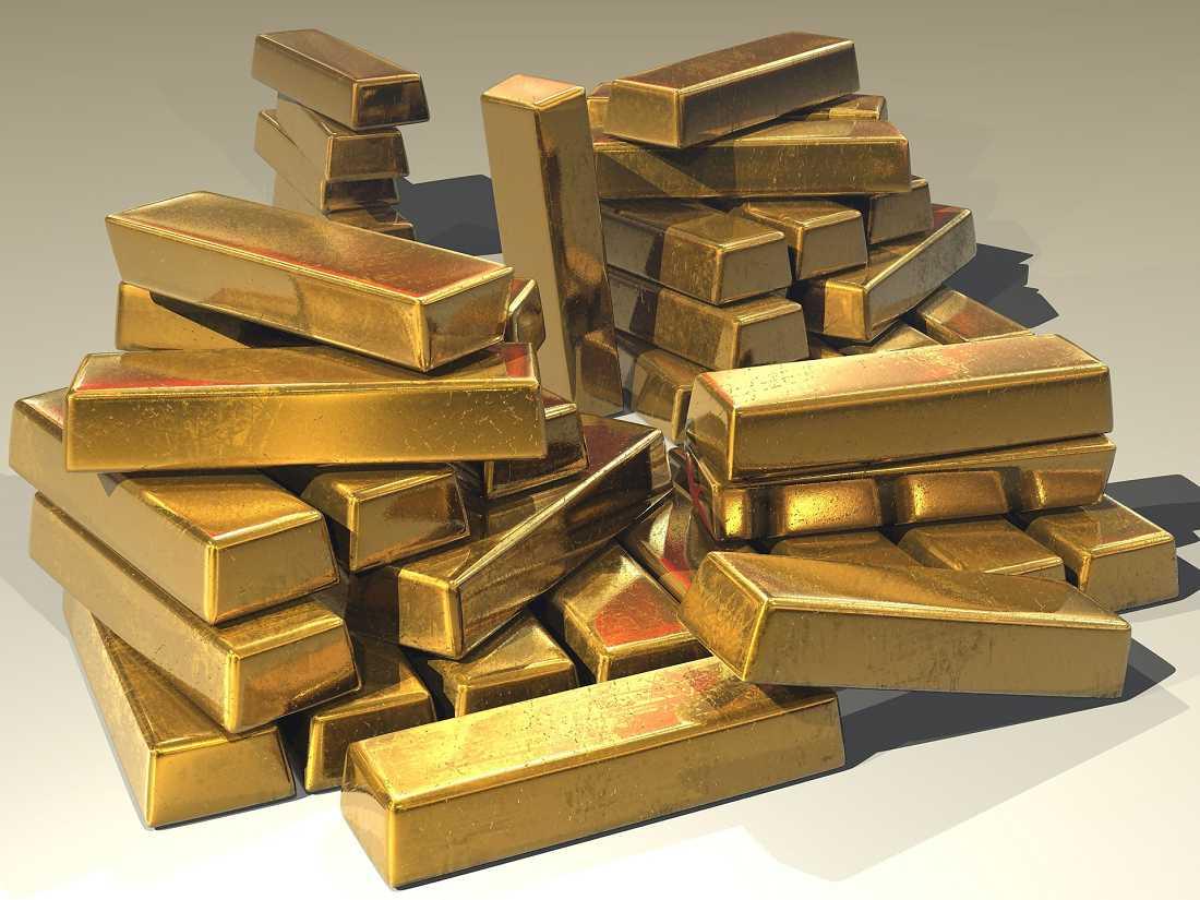 Edelmetalle: Goldbarren