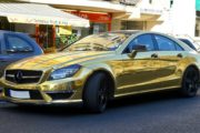 Mercedes-Benz gold-farben